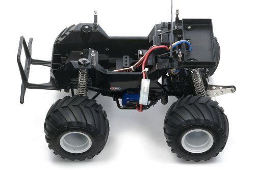 Tamiya Lunch Box - Black Edition #58546 CW-01 Chassis