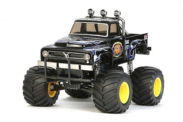 Tamiya Midnight Pumpkin - Black Edition #58547 - 1:12 Electric Monster Truck