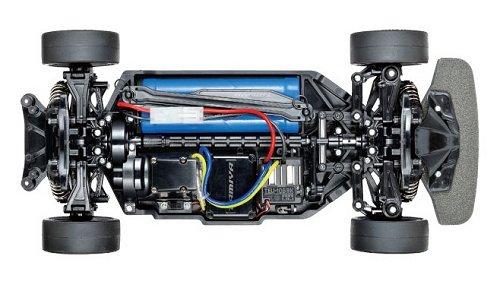 Tamiya Ferrari 458 Challenge #58560 TT-02 Chassis