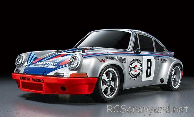 Tamiya Porsche 911 Carrera RSR - #58571 - TT-02 1:10 Electric Model Touring Car