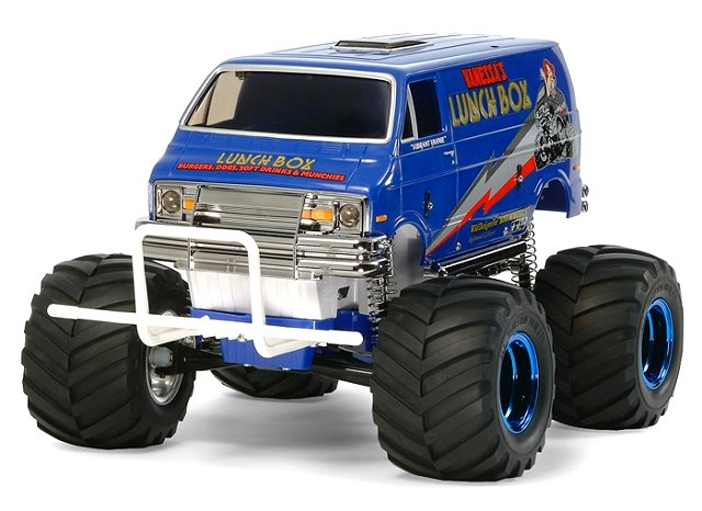 Tamiya Lunch Box - Blue Style #58575 - 1:12 Electric Monster Truck