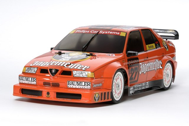 Alfa Romeo 155 V6 - #58585 - TT-02 1:10 Electric Model Touring Car