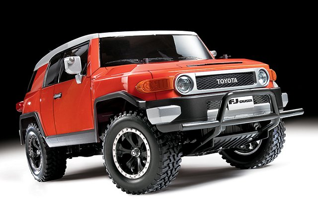 Tamiya Toyota FJ Cruiser - CC-01 #58588