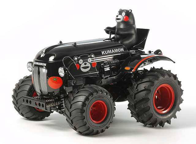 Tamiya Tractor Kumamon Version - Wheelie #58601 - 1:10 Electric Farming Tractor
