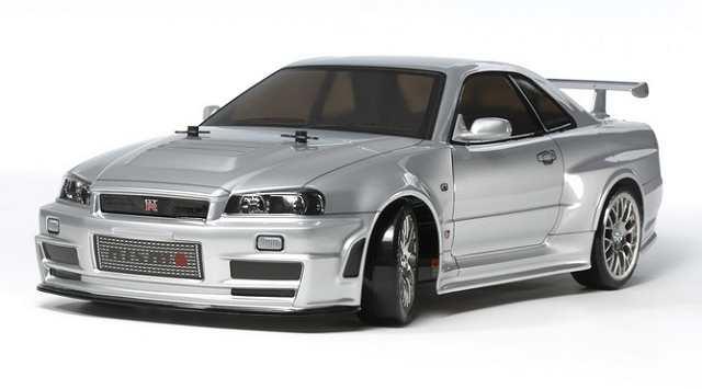 Tamiya NISMO R34 GT-R Z-Tune - #58605 - TT-02D 1:10 Electric Model Touring Car