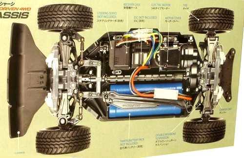 Tamiya Sandshaker #58608 TT-02T Chassis
