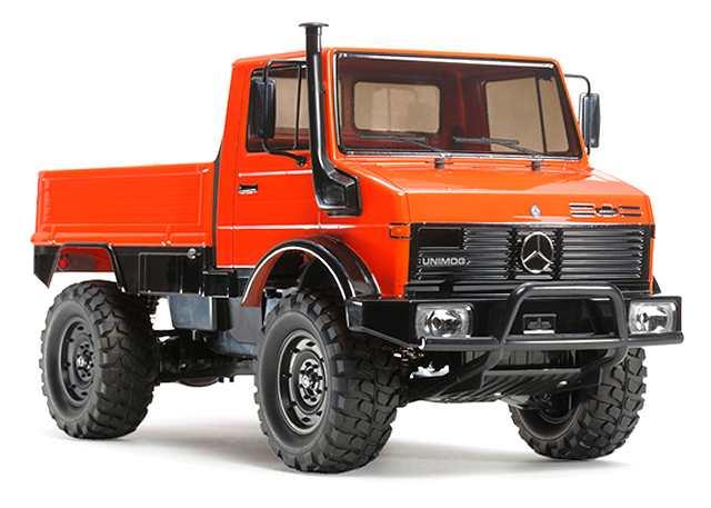 voiture sans ESC TAMIYA 58457 UNIMOG 406 S CC01 Crawler RC Kit Voiture
