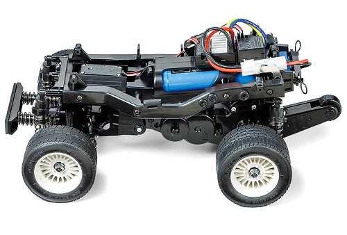 Tamiya Honda City Turbo - #58611 WR-02C Chassis