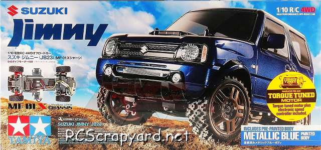 Tamiya Suzuki Jimny JB23 - 58621 - 1:10 On Road