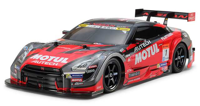 Tamiya Motul Autech GT-R - #58625 - TT-02