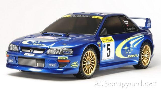 Tamiya Subaru Impreza Monte-Carlo 99 - #58631 - TT-02
