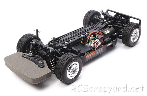 Tamiya Team Hahn Racing MAN TGS #58632 TT-01E Chassis