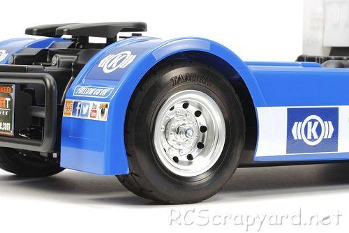 Tamiya Team Hahn Racing MAN TGS #58632 TT-01E Body Shell