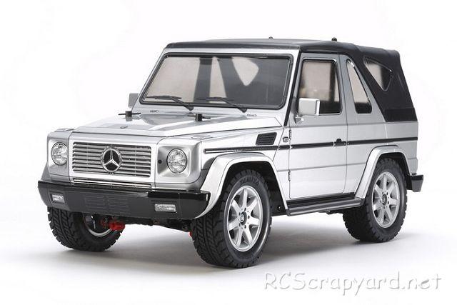 Tamiya Mercedes Benz G-320 Cabrio - Silver - 58635