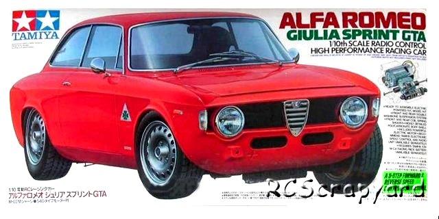 Tamiya Alfa Romeo Giulia Sprint GTA - #58187 M-04M