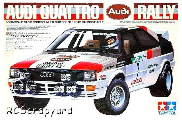 Tamiya Audi Quattro Rally - #58036