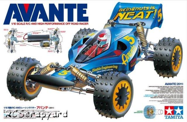 Tamiya Avante 2011 - #58489