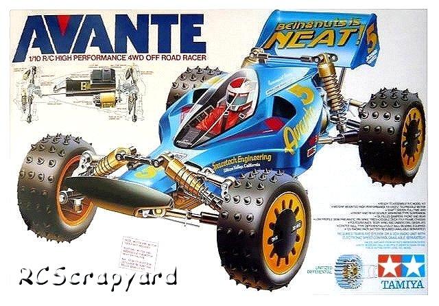 Tamiya Avante - #58072