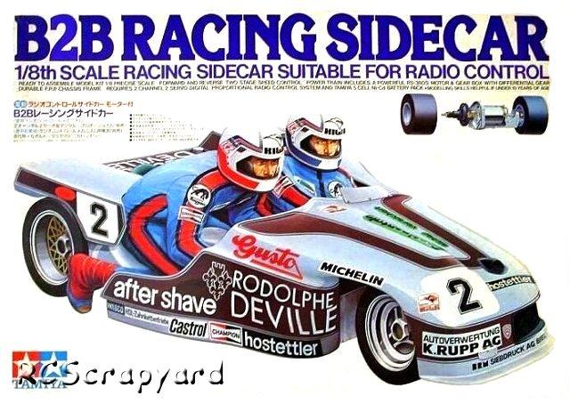 Tamiya B2B Racing Sidecar - #58017