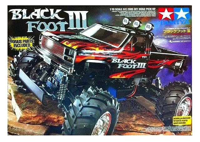 Tamiya Blackfoot III - #58498 - 1:10 Electric RC Monster Truck