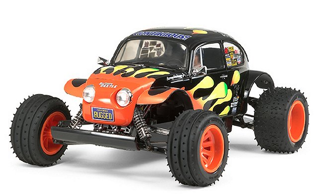Tamiya Blitzer Beetle 2011 - #58502 - 1:10 Electric RC Buggy
