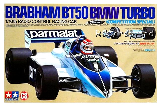 Tamiya Brabham BT50 BMW Turbo - #58031