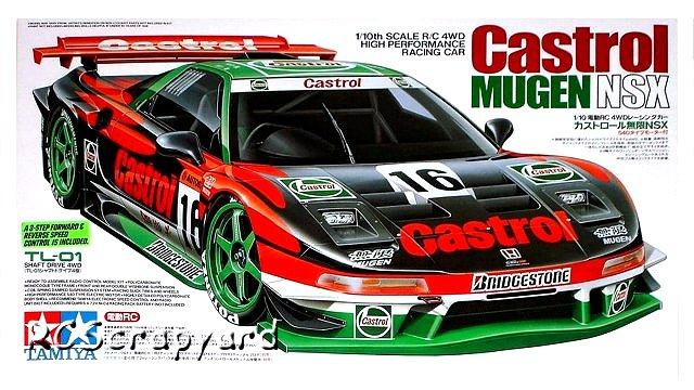 Tamiya Castrol Mugen NSX - #58233 TL01