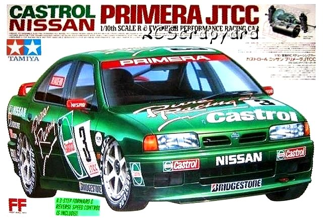 Tamiya Castrol Nissan Primera JTCC - #58147 FF01