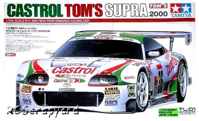 Tamiya Castrol Tom's Supra 2000 - #58264 TL01