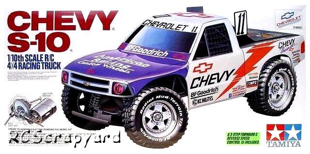 Tamiya Chevy S-10 - #58146 TA01 - TA02