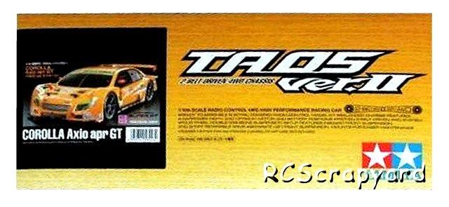Tamiya Corolla Axio apr GT - #58448 TA05 Ver II