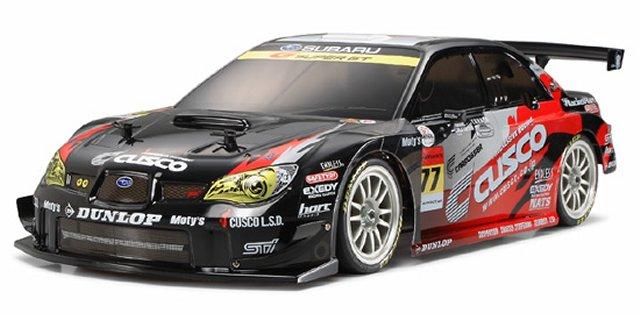 Tamiya Cusco Dunlop Subaru Impreza