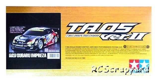 Tamiya Cusco Dunlop Subaru Impreza - #58435 TA05 Ver II