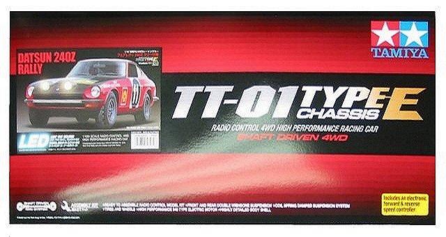 Tamiya Datsun 240Z Rally - #58462 TT-01E
