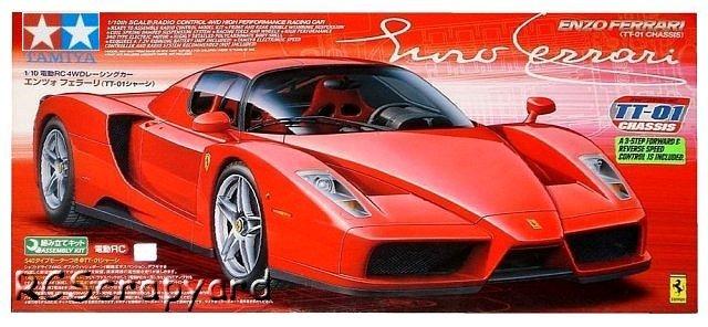 Tamiya Enzo Ferrari - #58302 TT01