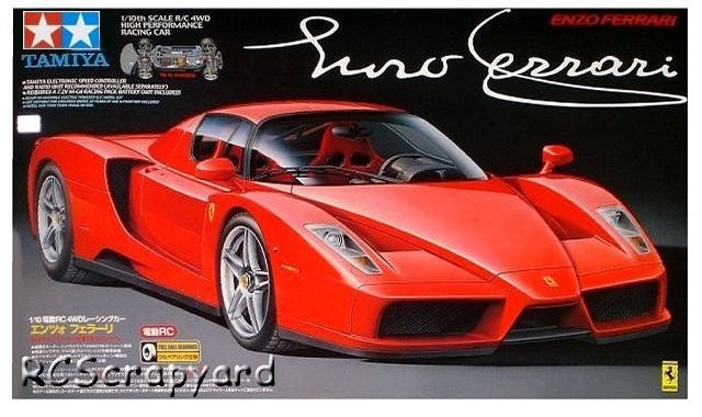 Tamiya Enzo Ferrari - #58298 TB01