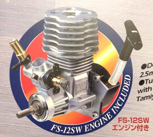 Tamiya FS-12SW engine