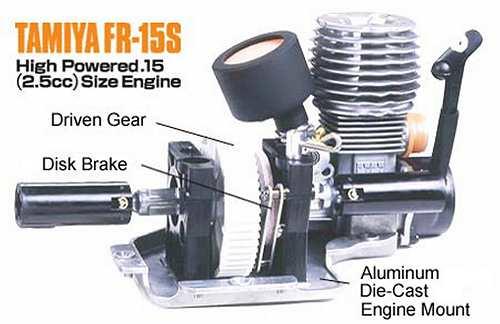 Tamiya FR-15S engine
