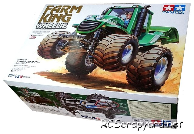 Tamiya Farm King - Wheelie #58556 - 1:10 Electric Farming Tractor