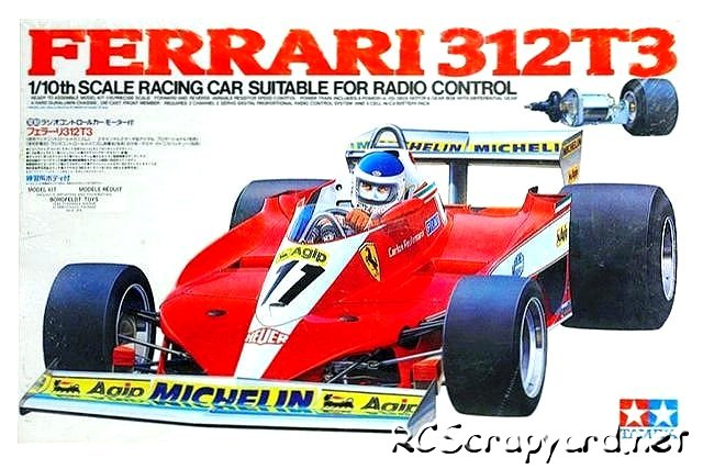 Tamiya Ferrari 312T3 - #58011