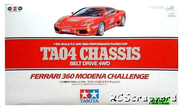 Tamiya Ferrari 360 Modena Challenge