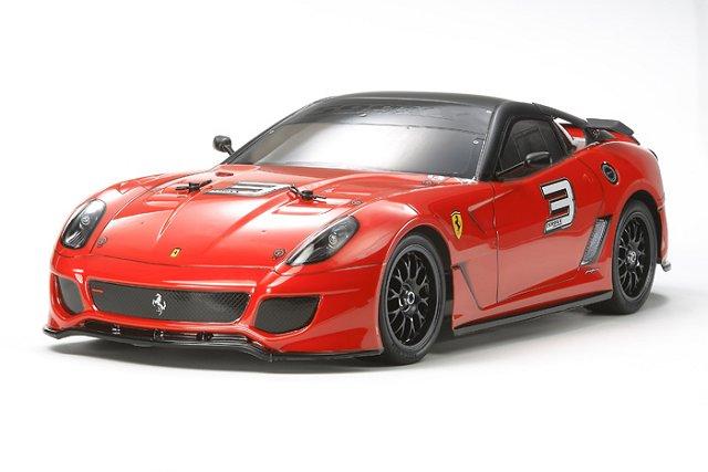 Tamiya Ferrari 599XX - #58510 TT-01E  - 1:10 Electric RC Touring Car