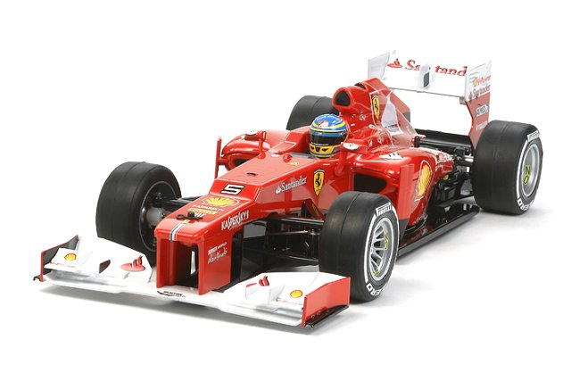 Tamiya Ferrari F2012 - F104 Chassis - #58559 - 1:10 Electric Model F1