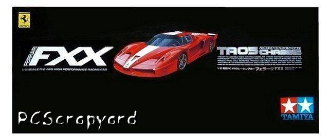 Tamiya Ferrari FXX - #58378 TA05