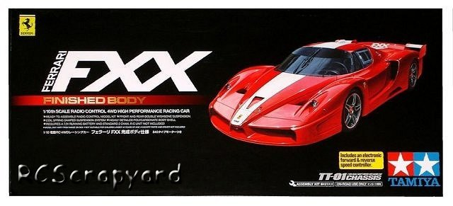 Tamiya Ferrari-FXX - #58377 TT01