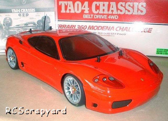 Tamiya Ferrari 360 Modena Challenge - #58266 TA04