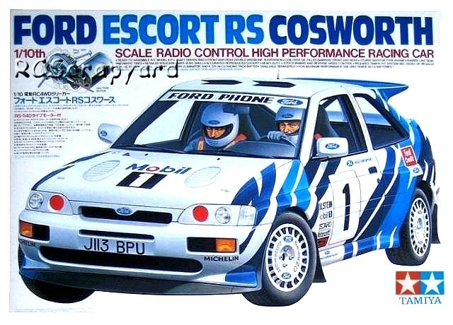 Tamiya Ford Escort RS Cosworth - #58112 TA-01