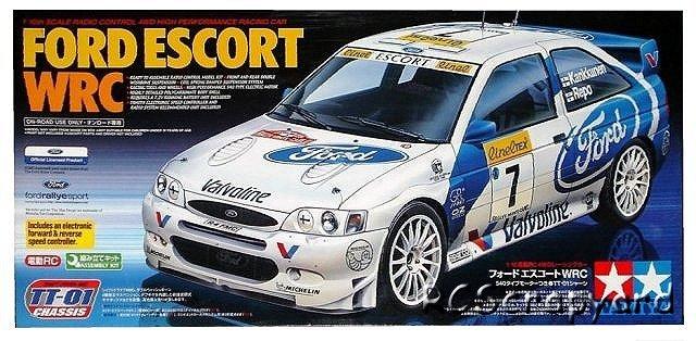 Tamiya Ford Escort WRC - #58335 TT-01