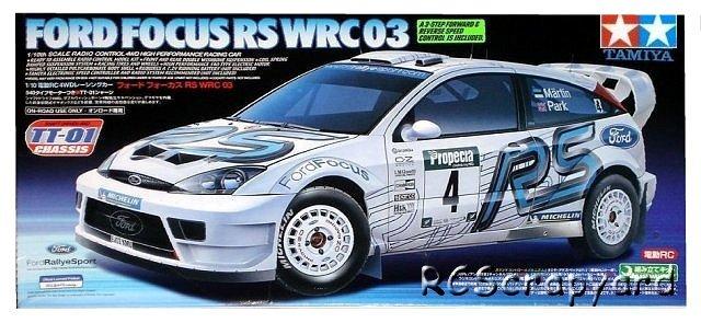 Tamiya Ford Focus RS WRC 03 - #58308 TT-01
