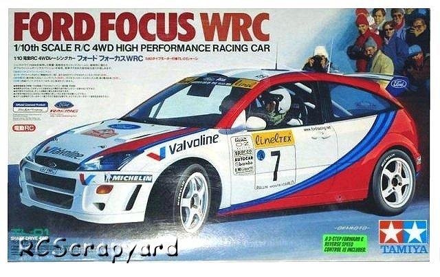 Tamiya Ford Focus WRC - #58241 TL-01